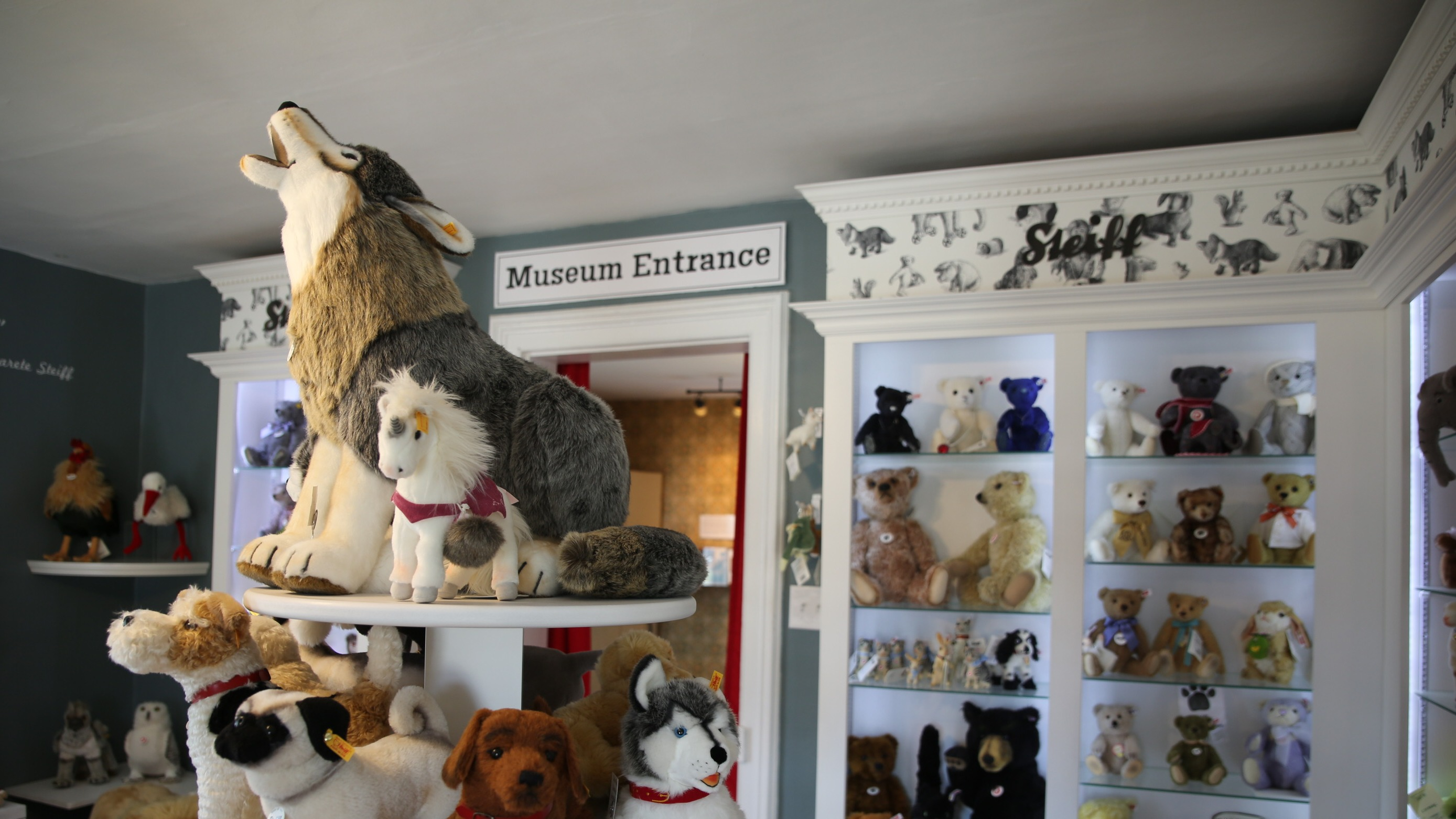 There is something for everyone in the Teddy Bear Museum and the Steiff Gift Shop